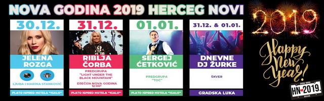 Novogodišnji program u Herceg Novom