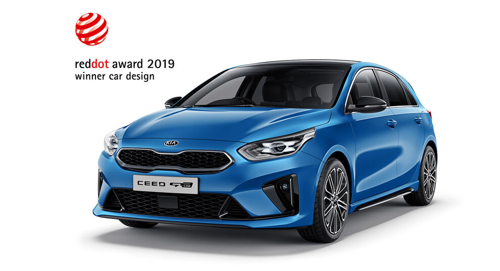 Kia Ceed red dot 2019