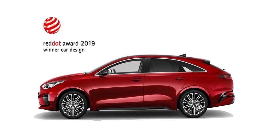Kia ProCeed red dot 2019
