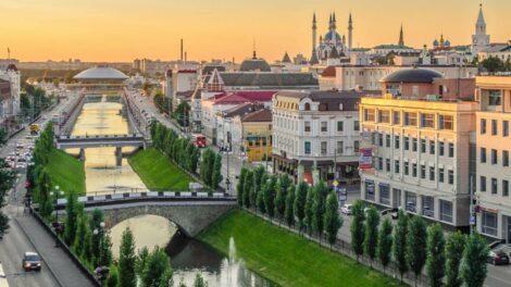 Krstarenje Volgom-Kazanj 1