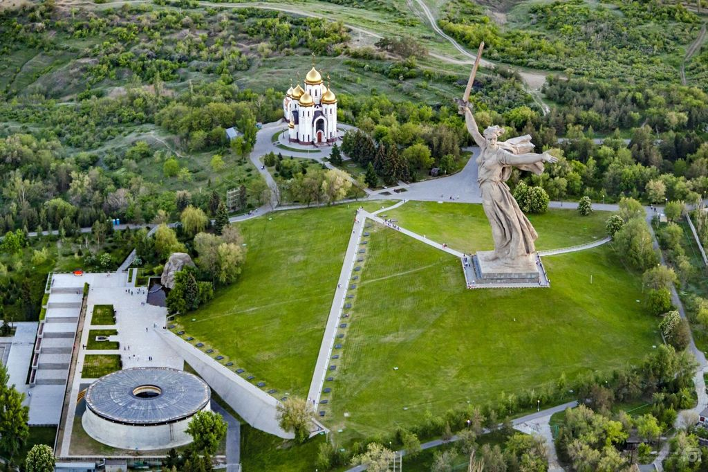 Volgograd Oblast from Above