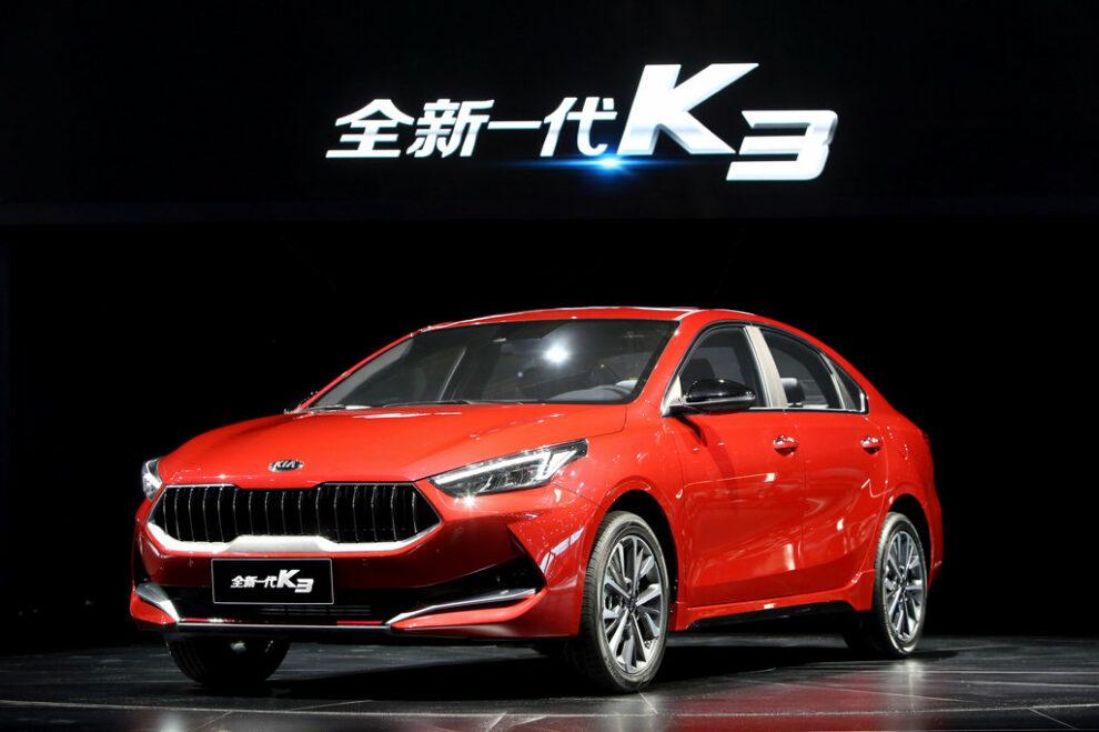 Kia K3 Shanghai 16 04 2019