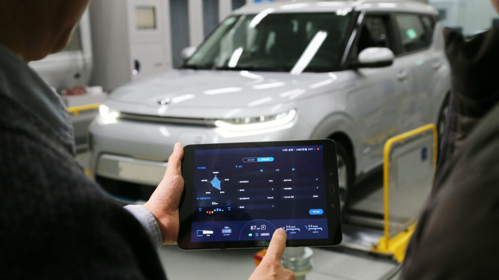 Kia e-Soul - HMG Group Introduces Smartphone Based EV Performance Control Technology1