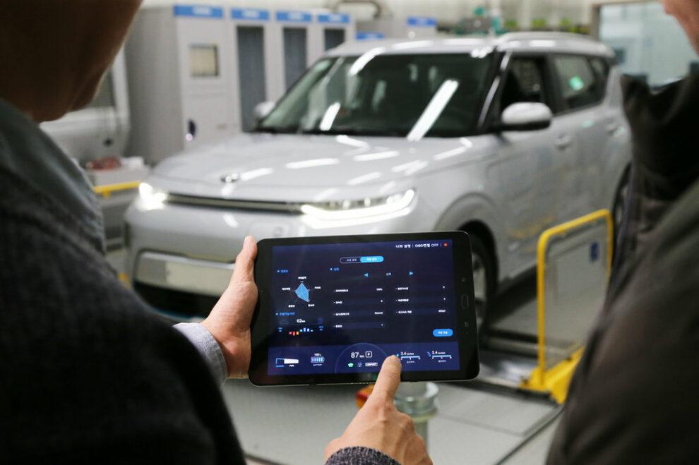Kia e-Soul - HMG Group Introduces Smartphone Based EV Performance Control Technology1