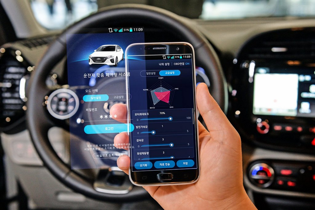 Kia e-Soul - HMG Group Introduces Smartphone Based EV Performance Control Technology3