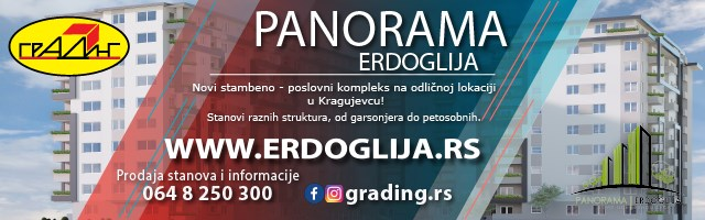 Panorama Erdoglija - Kragujevac