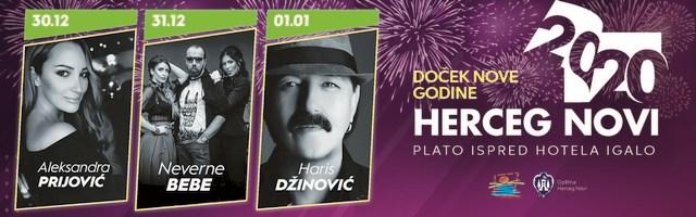 Nova godina Herceg Novi 2020.