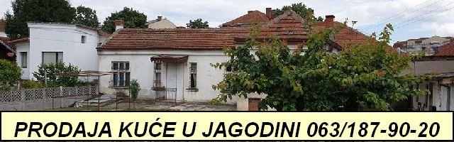 Prodaja kuće u Jagodini