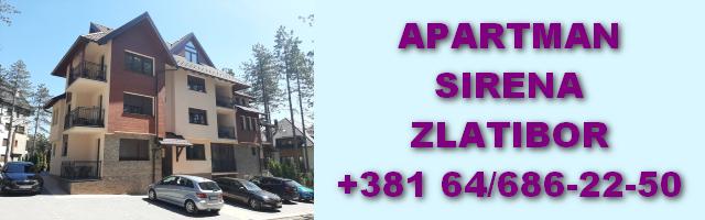 Apartman Sirena Zlatibor