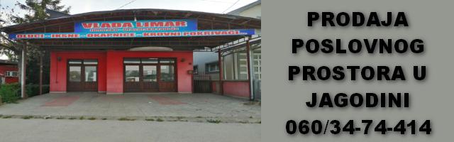 Prodaja poslovnog prostora u Jagodini