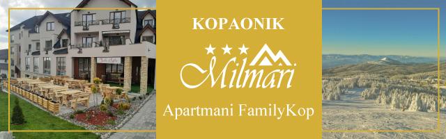 Apartmani FamilyKop (S60&S61)